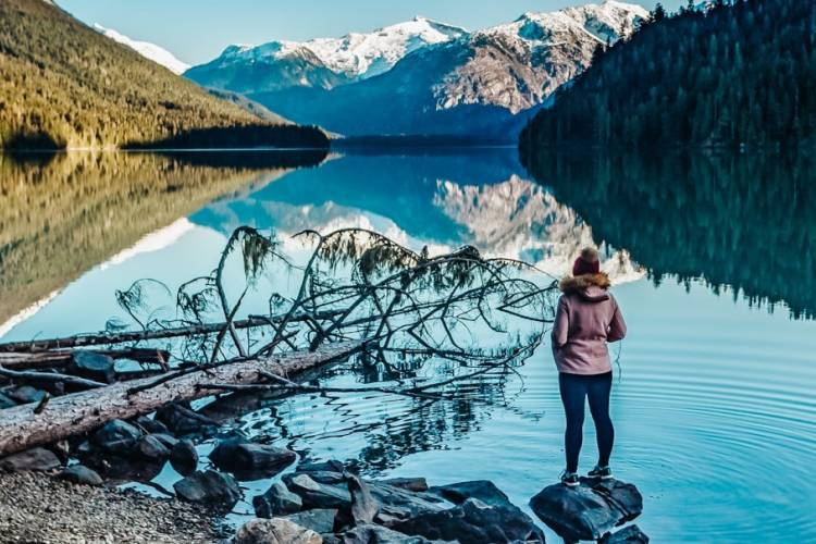 Winter hikes in Whistler